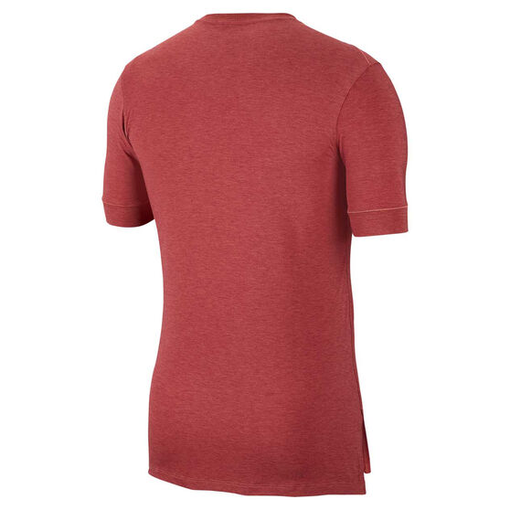 Nike Mens Dri-FIT Transcend Training Tee Red S, Red, rebel_hi-res