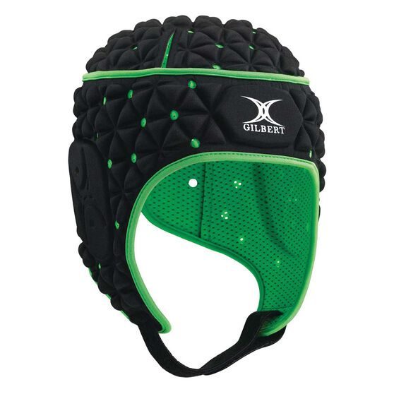 Gilbert Revolution Headgear, Black, rebel_hi-res