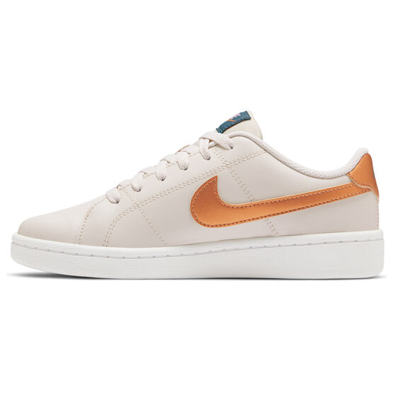 Nike Court Royale 2 Womens Casual Shoes, Brown/Gold, rebel_hi-res
