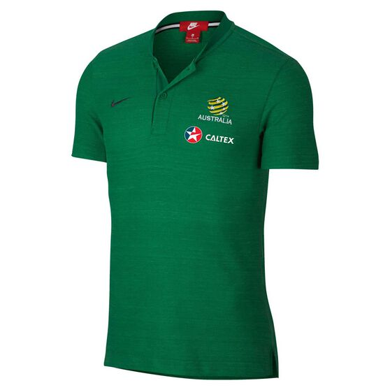 Socceroos 2018 Mens Grand Slam Football Polo Shirt, , rebel_hi-res