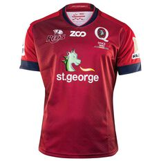 Queensland Reds 2018 Mens Home Rugby Jersey, , rebel_hi-res