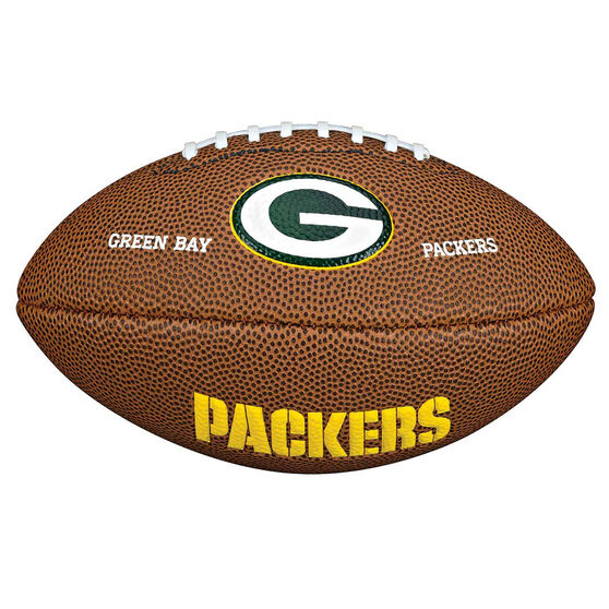 Wilson NFL Mini Green Bay Packers Supporter Ball, , rebel_hi-res