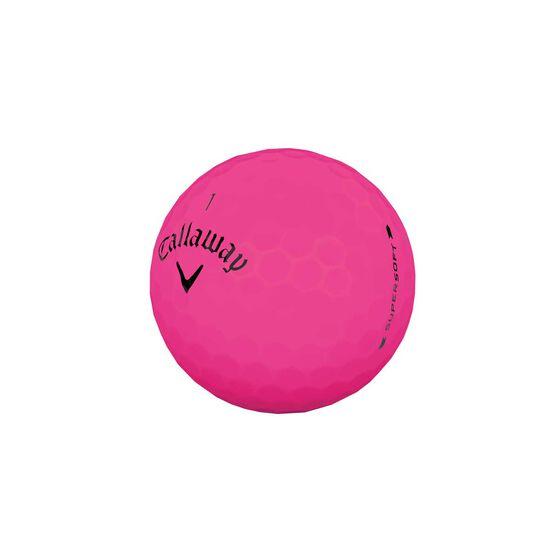 Callaway Supersoft 12 Pack Golf Balls, , rebel_hi-res