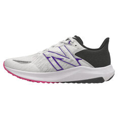 New Balance FuelCell Propel v3 Womens Running Shoes White/Black US 6, White/Black, rebel_hi-res