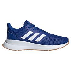 adidas Runfalcon Kids Running Shoes, Blue, rebel_hi-res