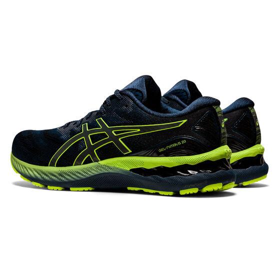 Asics GEL Nimbus 23 Lite Show Mens Running Shoes, Blue/Silver, rebel_hi-res