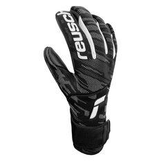 Reusch Pure Contact Infinity Goalkeeping Gloves Black 8, Black, rebel_hi-res