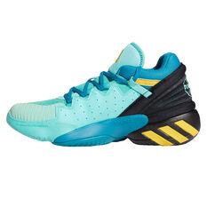 adidas D.O.N. Issue 2 Basketball Shoes Blue US 7, Blue, rebel_hi-res