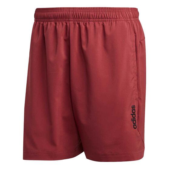 adidas Mens Essentials Chelsea Shorts, Red, rebel_hi-res