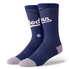Stance Mens Los Angeles Dodgers Alternative Jersey Socks Multi M, Multi, rebel_hi-res