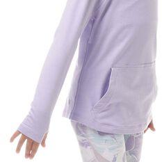 Ell & Voo Girls Amelia Pullover Hoodie, Lavender, rebel_hi-res