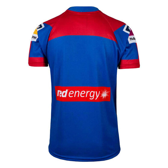 Newcastle Knights 2020 Kids Home Jersey, Blue/Red, rebel_hi-res