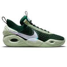 Nike Cosmic Unity Gorge Green Basketball Shoes Green US 7, Green, rebel_hi-res