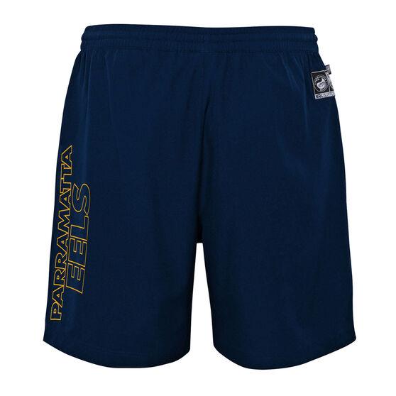 Parramatta Eels 2021 Mens Sports Shorts, Navy, rebel_hi-res
