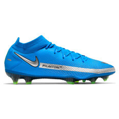 Nike Phantom GT Elite Dynamic Fit Football Boots Blue US Mens 5 / Womens 6.5, Blue, rebel_hi-res