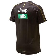 Richmond Tigers 2019 Mens Training Tee Brown / Yellow S, Brown / Yellow, rebel_hi-res