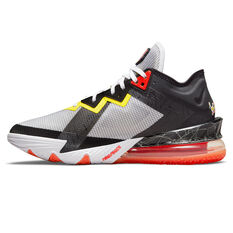 Nike LeBron 18 Low x Space Jam: A New Legacy Basketball Shoes White US 7, White, rebel_hi-res