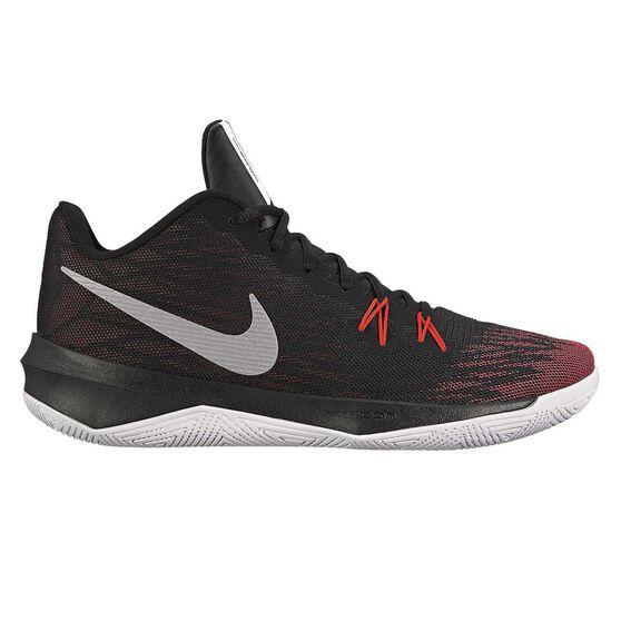 266dd1ec5bb52 Nike Zoom Evidence II Mens Basketball Shoes Black US 10.5, Black,  rebel_hi-res