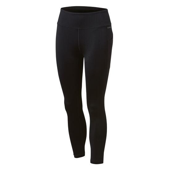 Ell & Voo Womens Kara Pocket 7/8 Tights, Black, rebel_hi-res