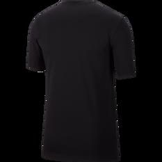 Nike Mens Graphic Training Tee Black S, Black, rebel_hi-res