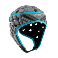 Steeden Super Lite Hero Protective Headgear Grey / Blue YOUTH, Grey / Blue, rebel_hi-res