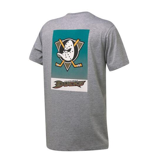 Anaheim Ducks Mens Pattison Tee, Grey, rebel_hi-res
