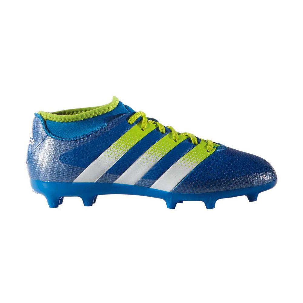 finest selection 23991 09bc3 adidas ACE 16.3 Primemesh Junior Football Boot Blue / Yellow US 12 Junior