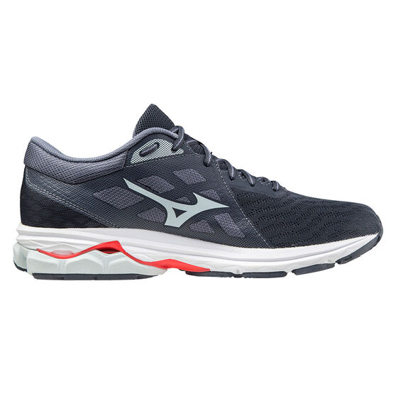 Mizuno Wave Kizuna 2 Mens Running Shoes, Black/Red, rebel_hi-res