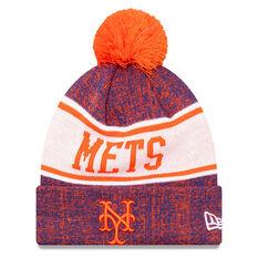 New York Mets New Era Pom Knit Beanie, , rebel_hi-res