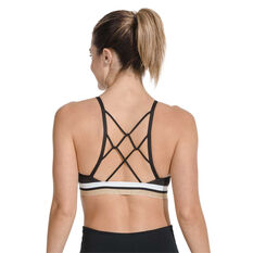 Nike Womens Indy Glam Dunk Sports Bra Black XL, Black, rebel_hi-res