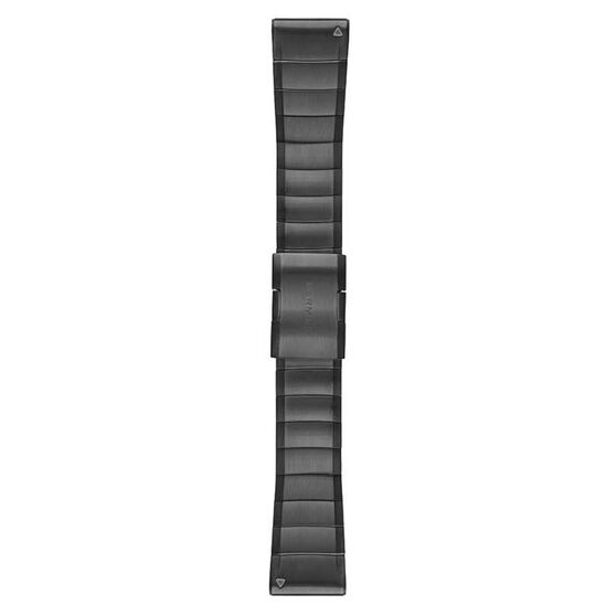 Garmin Fenix 5X QuickFit Stainless Steel Band Slate Gray Stainless Steel 26mm, , rebel_hi-res
