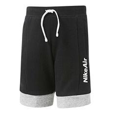 Nike Boys Sportswear Air Shorts Black / Grey 4, Black / Grey, rebel_hi-res