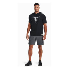 Under Armour Mens Project Rock Snap Shorts, Grey, rebel_hi-res