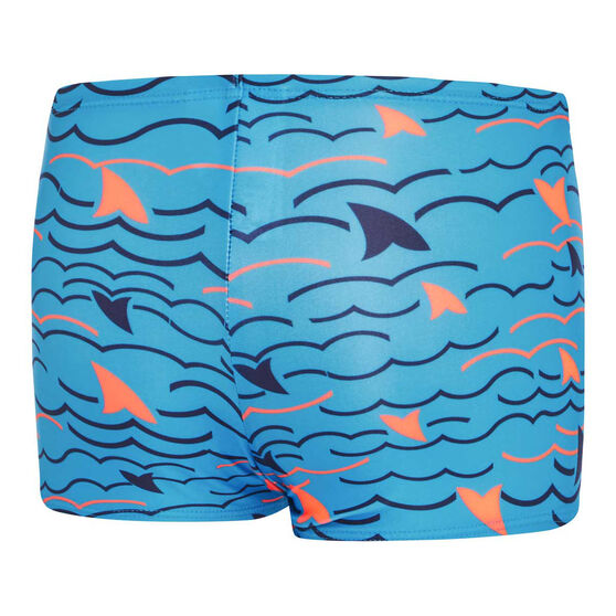 Speedo Toddler Boys Noahs Aquashort, Blue, rebel_hi-res