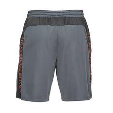 Under Armour Mens Mode Kit 1 Wordmark 7in Shorts, Grey, rebel_hi-res