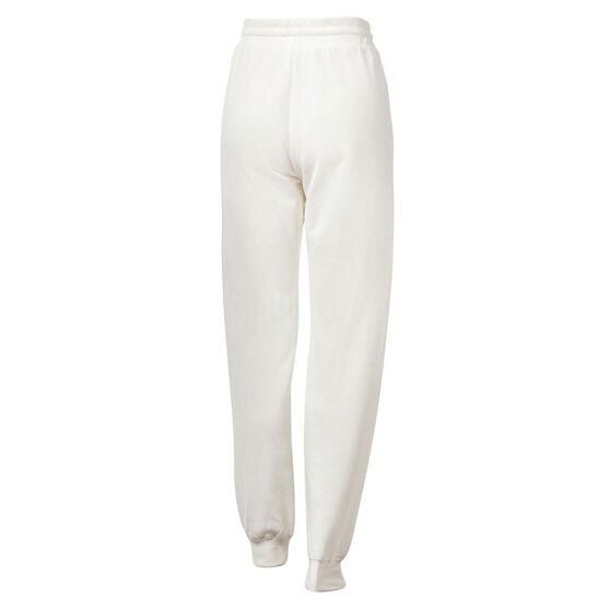Running Bare Womens Legacy Sweatpants, White, rebel_hi-res
