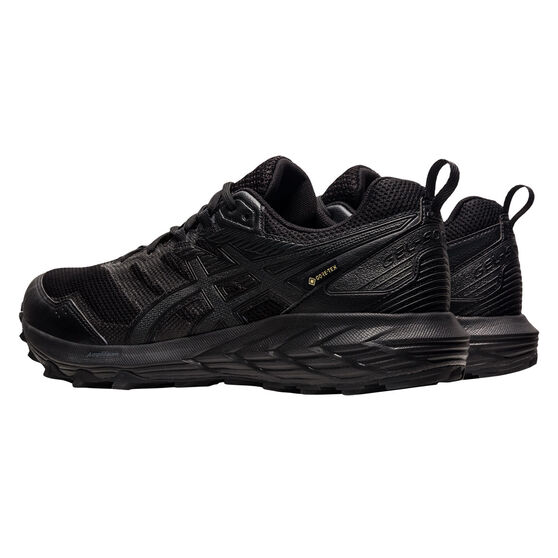 Asics GEL Sonoma 6 G-TX Mens Trail Running Shoes, Black, rebel_hi-res