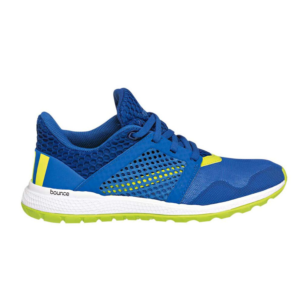 02e00f8f8c920 adidas Energy Bounce Kids Running Shoes Blue   Green US 5