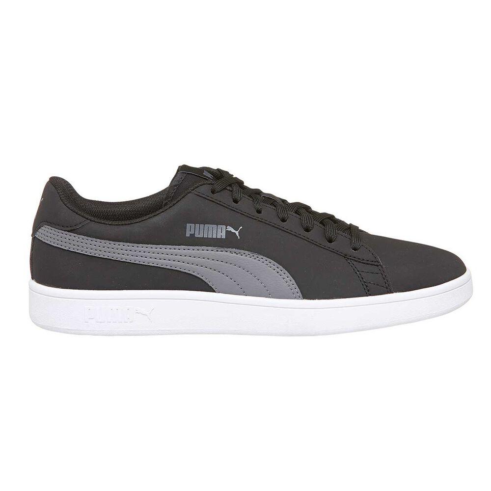 12da58a035e5ca Puma Smash V2 Mens Casual Shoes Black   Grey US 7