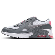 Nike Air Max Excee Kids Casual Shoes Grey/Pink US 11, Grey/Pink, rebel_hi-res