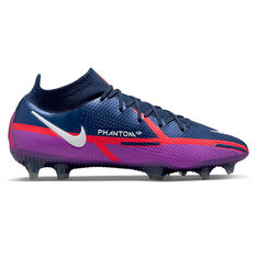 Nike Phantom GT2 Elite Dynamic Fit Football Boots Blue US Mens 4 / Womens 5.5, Blue, rebel_hi-res