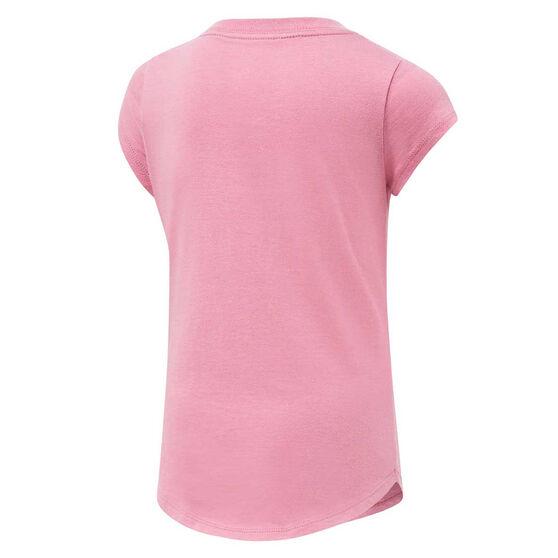 Nike Girls Futura Waterfall Tee, Pink, rebel_hi-res