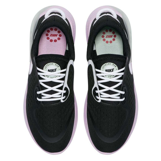 Nike Joyride Womens Running Shoes, Black / White, rebel_hi-res