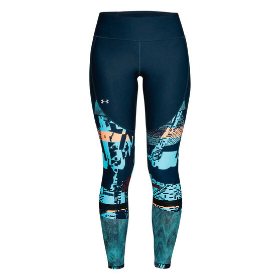 Under Armour Womens Vanish Printed Tights, , rebel_hi-res