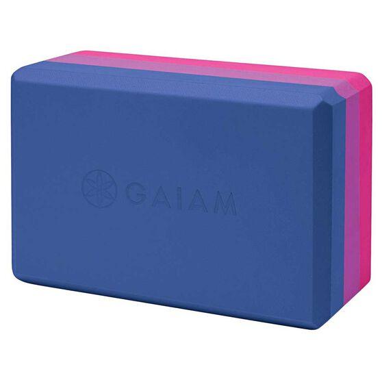 Gaiam Tri-colour Yoga Block, , rebel_hi-res