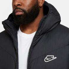 Nike Mens Down Filled Windrunner, Black, rebel_hi-res