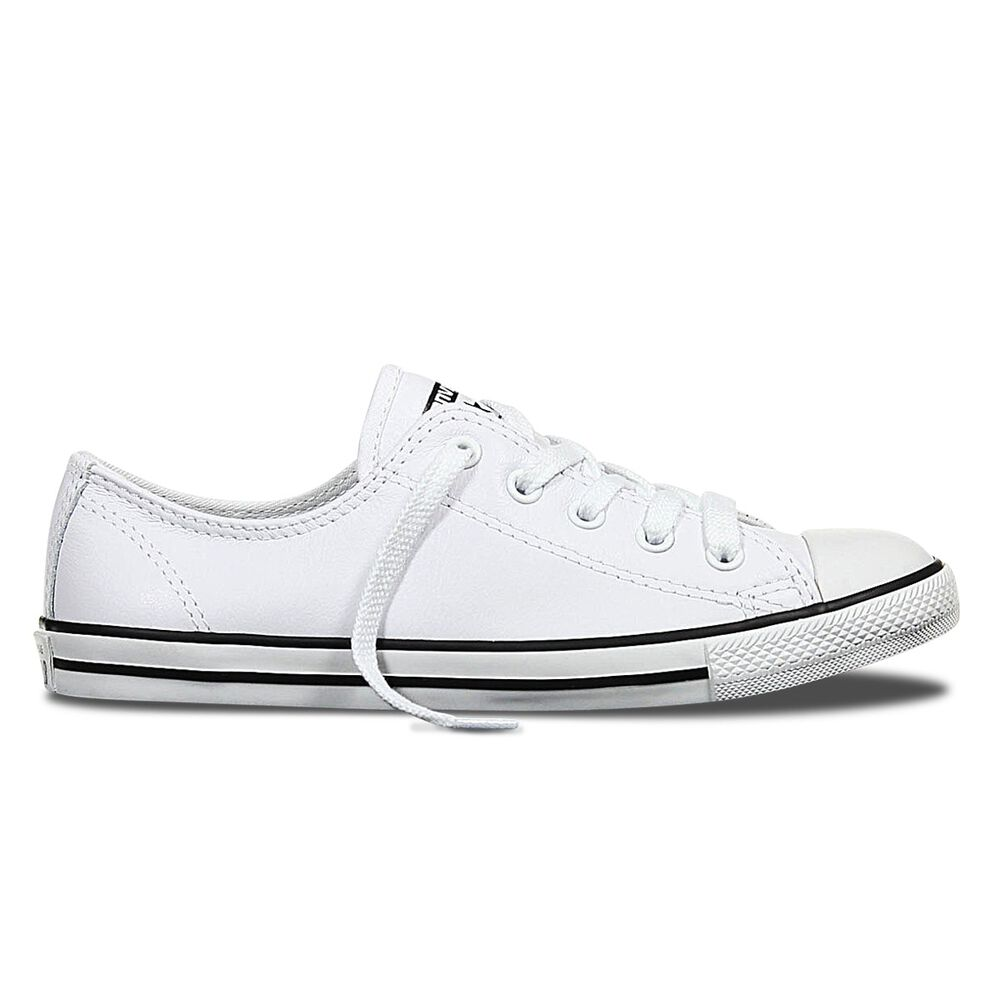 Converse Dainty Low Leather Womens Casual Shoes  5f919c1cd