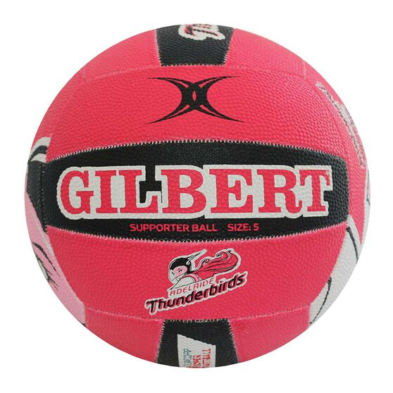 Gilbert Champ Thunderbirds Supporter Netball 5, , rebel_hi-res
