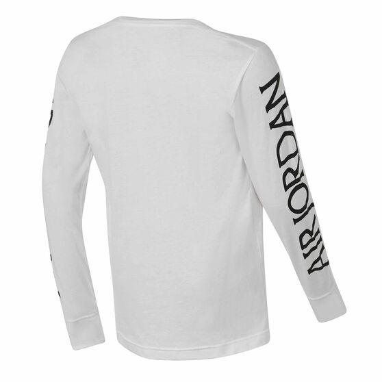 Nike Jordan Air Tee, White / Black, rebel_hi-res
