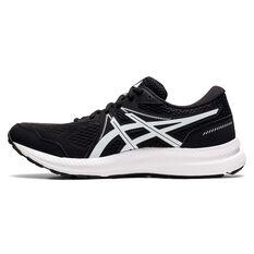 Asics GEL Contend 7 Mens Running Shoes Black/White US 7, Black/White, rebel_hi-res